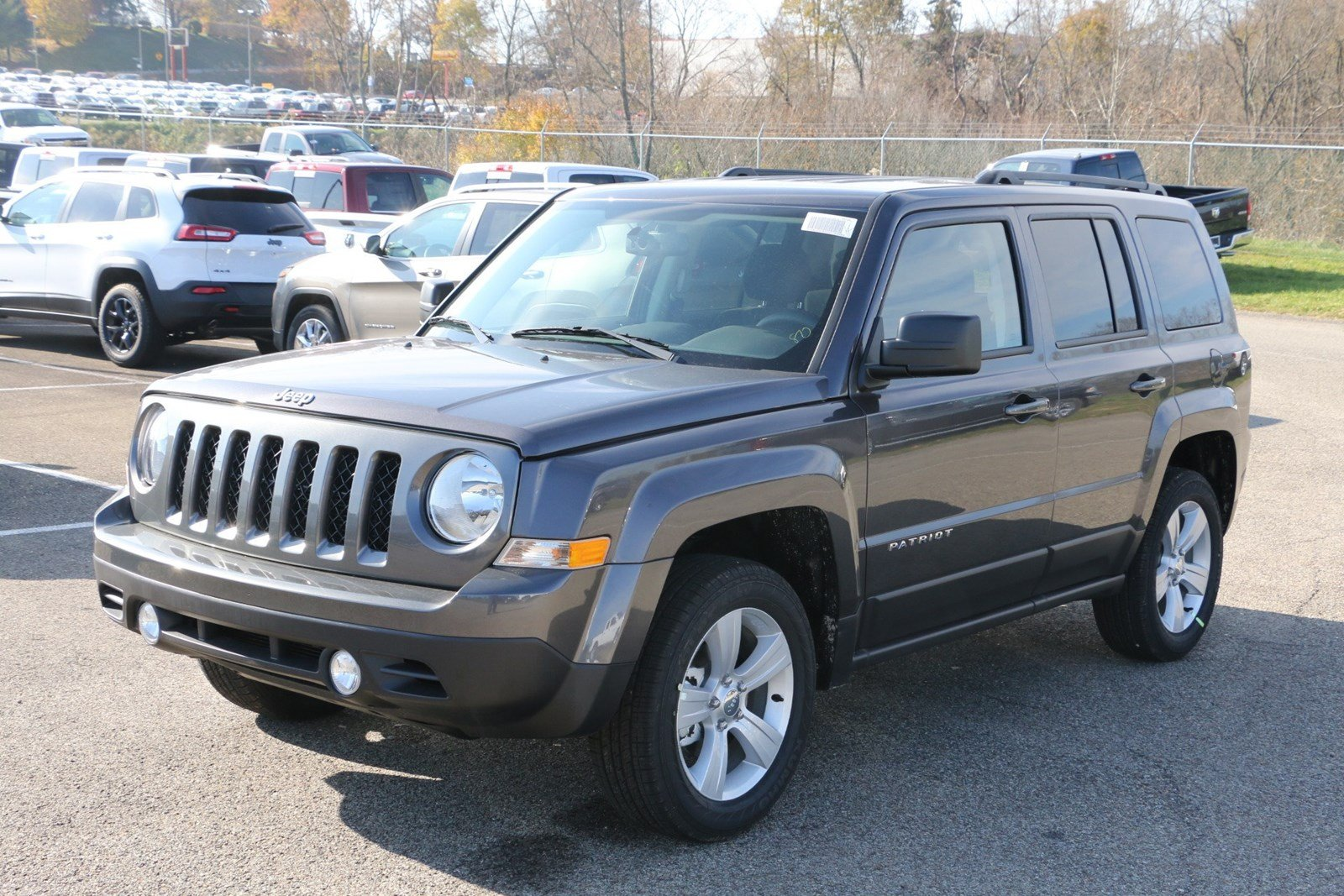 New 2017 Jeep Patriot Latitude Sport Utility In Greensburg